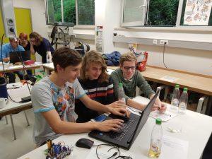 Programmieren des Arduino-Codes