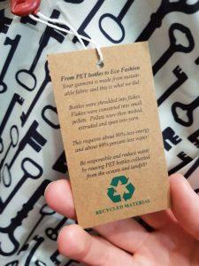 Recycelte Mode aus PET-Flaschen