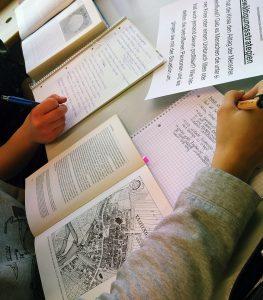 Auswertung von Fachliteratur aus Bibliotheken der Umgebung